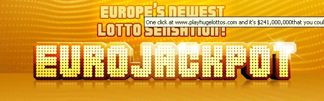 EuroJackpot lottery launch this week on 23rd of March 2012. Europe's newest lotto sensation!